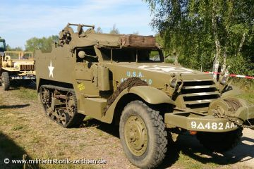 US AAA M16 Halftrack