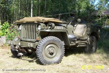 Willys MB der 69th US Infantry Division